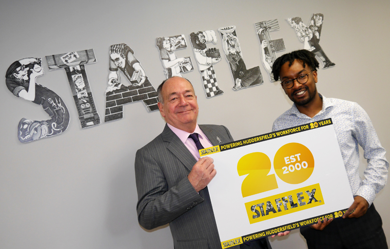 Stafflex celebrating 20 years in recruitment