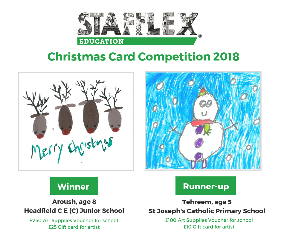 Stafflex Christmas Card Competition winner announced
